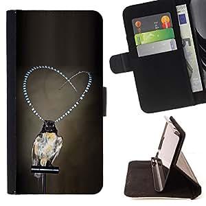 - Queen Pattern FOR HTC One M9 /La identificaci????n del cr????dito ranuras para tarjetas tir????n de la caja Cartera de cuero cubie - girl love pearls grey deep depression -