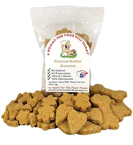 Peanut Butter Banana Dog Cookies Made In Idaho