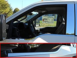 Stainless Steel Window Sill Trim Set for 2017 FORD F250 SUPERDUTY