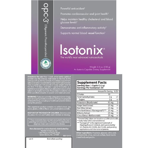 ISOTONIX OPC-3 90 Servings for 3 months 10.6oz by Isotonix opc