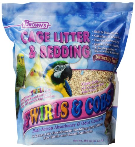 F.M. Brown's Twirls N' Cob Bedding, 4-Pound