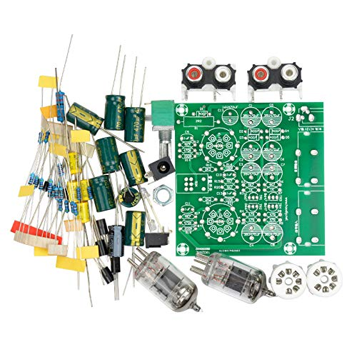TOOGOO Amplificateurs /à Tubes laudio Amplificateur De Bord Audio Pr/é-Ampli M/élangeur 6J1 Pr/éampli /à Valve Bile Tampon Kits De Bricolage