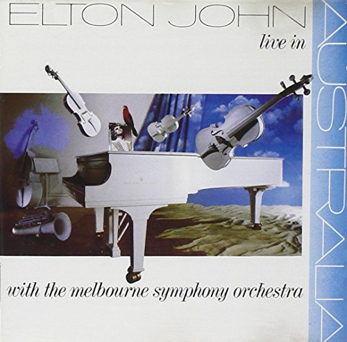 Elton John - Live In Australia (With The Melbourne Symphony Orchestra) - The Rocket Record Company - 832 470-2 by Elton John by