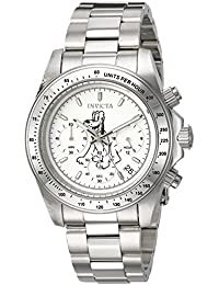 Mens Disney Limited Edition Quartz Stainless Steel Casual Watch, Color Silver-Toned