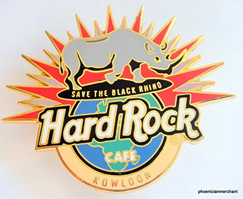 Save The Black Rhino Endangered Species Series I Hard Rock Cafe ()