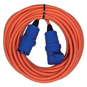 Semloh Kampa - Cable alargador para toma de corriente eléctrica de caravana (10 m)