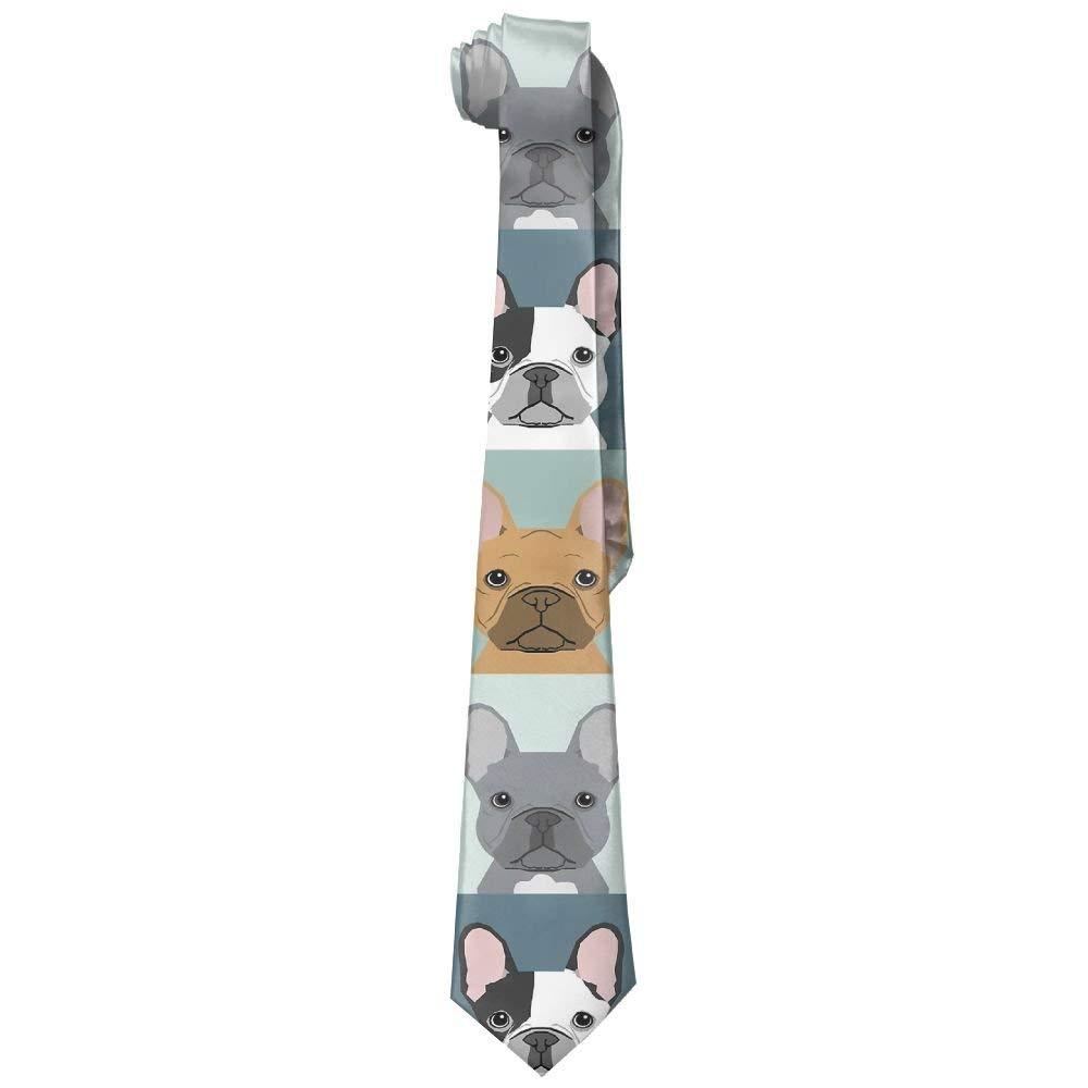 Corbatas estampadas de la novedad Corbata Caballeros del perro del ...