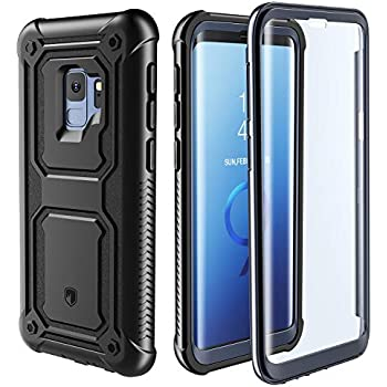 Amazon.com: YOUMAKER Crystal Clear Case for Galaxy S9 5.8 ...