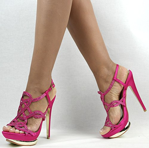 Shayenne - Zapatillas altas Mujer Rosa