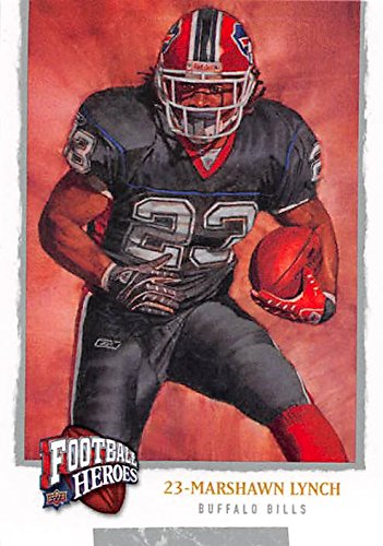 Marshawn Lynch Football Card (Buffalo Bills) 2008 Upper Deck Football Heroes #65 ()