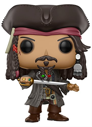 Disney Pirates Caribbean Jack (Funko POP Disney Pirates of the Caribbean Jack Sparrow Action Figure)