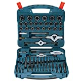 Bosch B44713 58-Piece Black Oxide Tap and Die Set