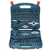 Bosch B44713 58-Piece Black Oxide Tap and Die Set