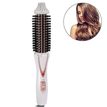 Amazon.com: Cepillo para rizador de pelo, cepillo eléctrico ...