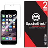 (2-PACK) Spectre Shield for iPhone 6 / 6S Screen Protector (Military-Grade) Flexible Full Coverage Ultra HD Clear Anti-Bubble Anti-Scratch Film