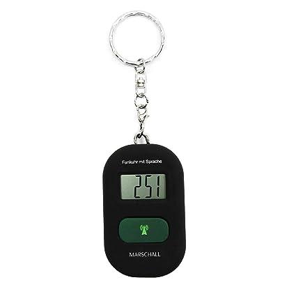 Llavero parlante Parlante Reloj despertador con radio reloj ...