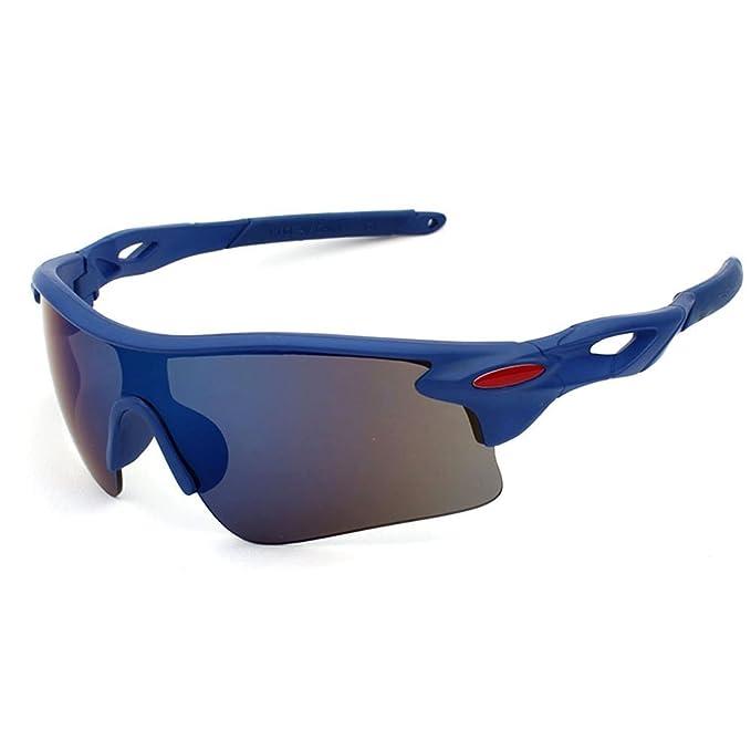 Aikesi 1pc gafas de sol para hombres y mujeres gafas de ciclismo de moda gafas de deportes al aire libre contra UVA UVB: Amazon.es: Ropa y accesorios