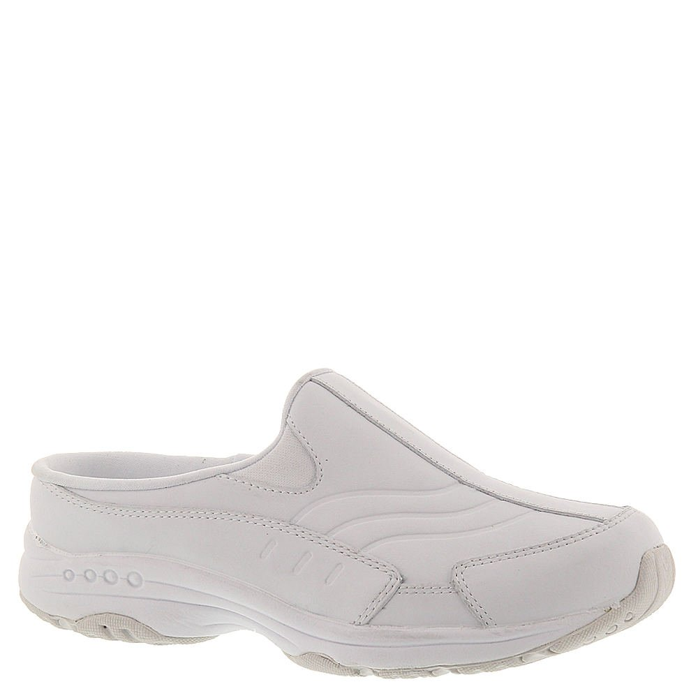 White Easy Spirit Women's Traveltime Mule