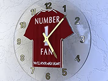 Mohamed Salah 11???Liverpool FC - Camiseta de fútbol reloj de pared???Fútbol Legends?dition Limit?E: Amazon.es: Deportes y aire libre
