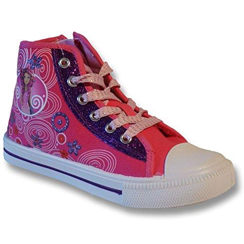 MIA AND ME , Mädchen Sneaker Pink Fucsia
