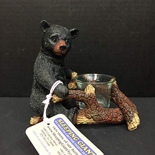 DeLeon Bear Votive Candle - Bear Votive
