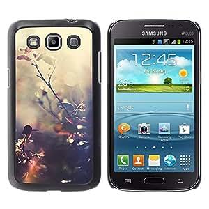 TopCaseStore / la caja del caucho duro de la cubierta de protección de la piel - Sun Reflection Warm Summer Nature - Samsung Galaxy Win I8550 I8552 Grand Quattro