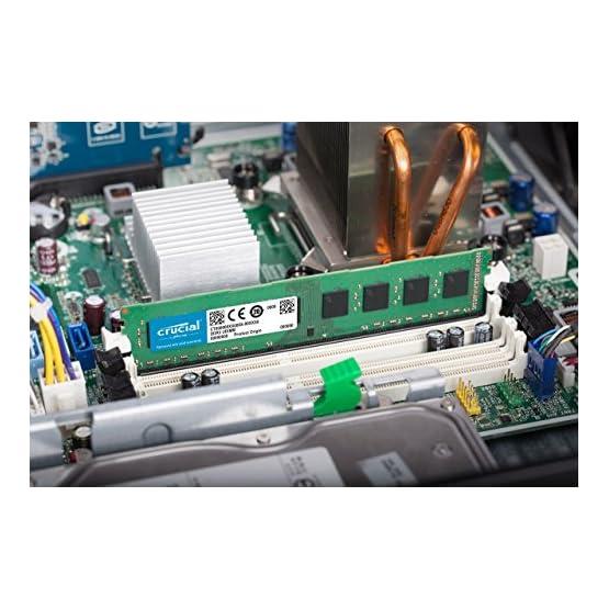 Crucial RAM 8GB Kit (2x4GB) DDR3 1600 MHz CL11 Desktop Memory CT2K51264BD160B 51AKgm4aVqL. SS555