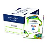 Hammermill Paper, Premium Color Copy Digital Cover, 80lb, 8.5x11 paper, Letter size, 100 Bright, 2000 Sheets / 8 Pack Case (120023C), cardstock