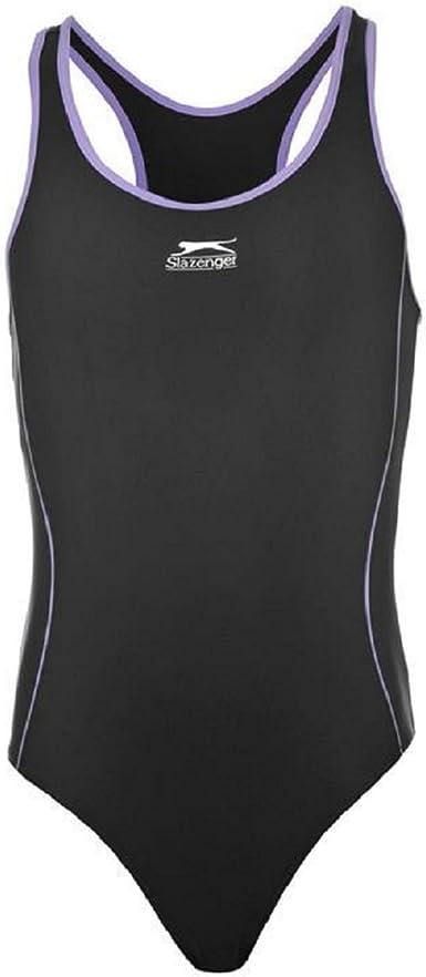 Slazenger Schwimmanzug Badeanzug Mädchen Kinder Schwimmen Swimming Suit Basic 7
