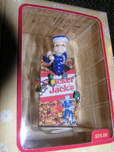 Masterpiece Treasury Editions Cracker Jack Christmas Ornament