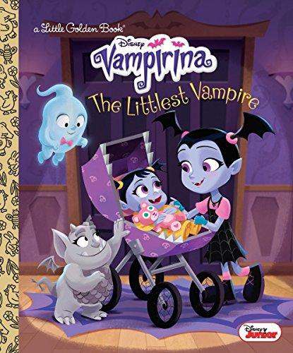 The Littlest Vampire (Disney Junior Vampirina) (Little Golden Book)