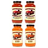 Hoboken Farms Big Red Gourmet Marinara & Vodka Sauces (4 Pack)