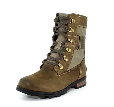 84600bbb55e5 Sorel Emelie Conquest NL3042-010 Damen Winterstiefel Black Schwarz   Amazon.de  Schuhe   Handtaschen