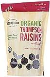 Woodstock Organic Thompson Raisins, 13 Oz