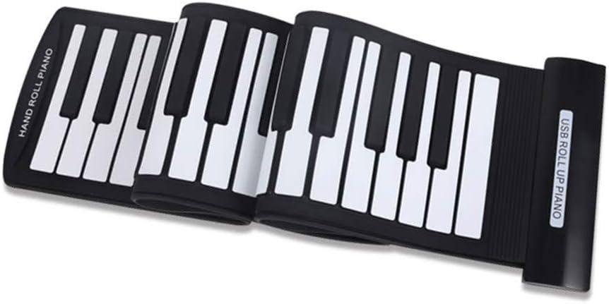 Asdomo Portable 61 Keys Piano flessibile arrotolabile USB ...