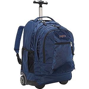 Jansport Driver 8 Wheeled Backpack (Navy)