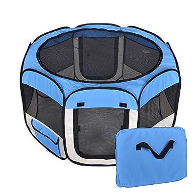 Pet Dog Cat Tent Playpen Exercise Play Pen Soft Crate T08