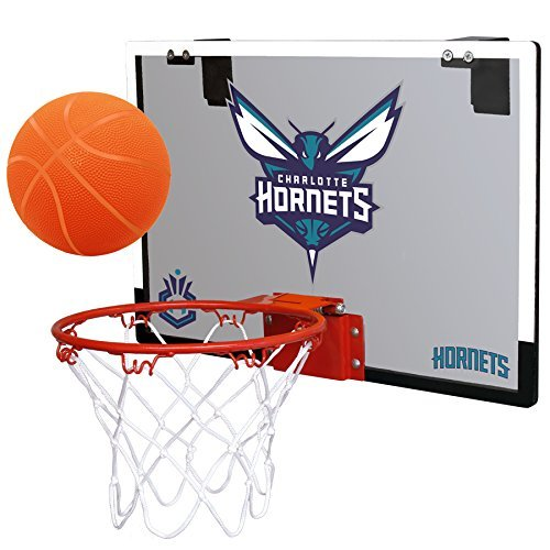 - NBA Charlotte Bobcats Game On Indoor Basketball Hoop & Ball Set, Regular, Teal