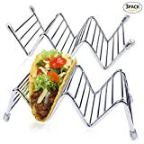 Taco Holder,3PCS Premium Quality Stainless