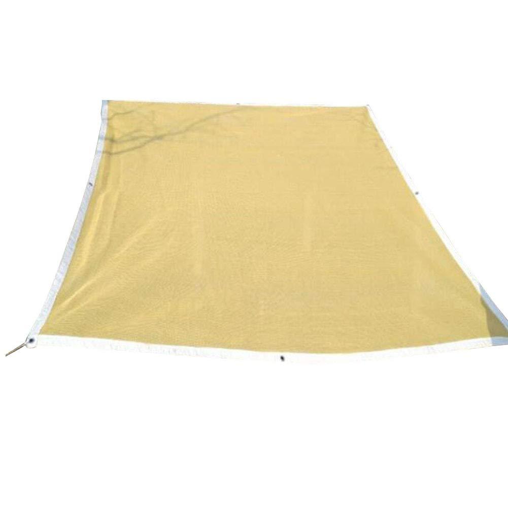 2x5m BÂches de prougeection CJC Ombre Tissu Engrener Net Couverture écran Solaire Balcon Crème Solaire Jardinage Jardin (Taille   4x6m)