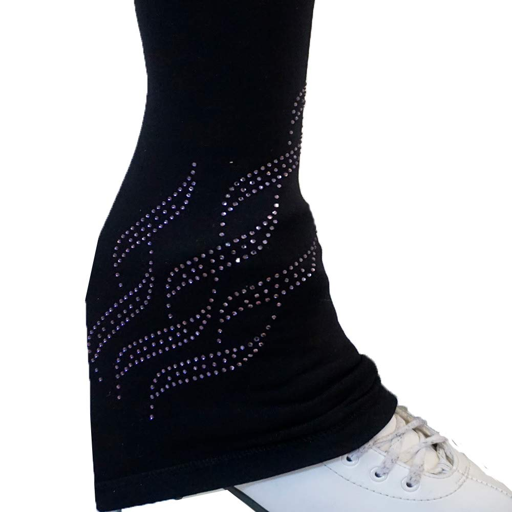 Thermal Victorias Challenge Ice Figure Skating Pants Pink Red Blue Polartec Compression Triple Twist VCSP39