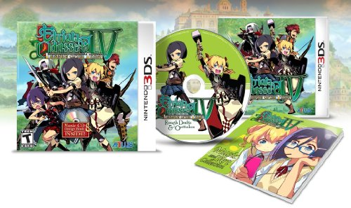 Etrian Odyssey IV: Legends of the Titan Limited Edition with Music CD & Design Book