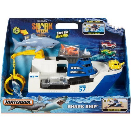 - Matchbox Shark Week Shark Ship