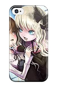 Leslie Hardy Farr's Shop Best two blonde girl brown ed anime girls Anime Pop Culture Hard Plastic iPhone 4/4s cases 1375586K999286155