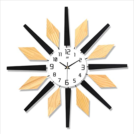 Amazon Com Zdtxkj Unique Modern Design Wall Clock Creative Brief Living Room Wall Watches 3d Room Decor Clock On The Wall Kitchen Dining