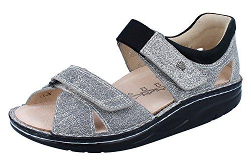 Femme Finn Comfort Pour Sandales Gris wp6p4q