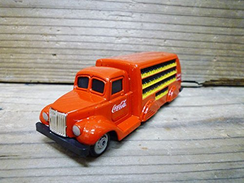 Cola Coca Bottles Miniature (Coca-Cola 1937 bottle track (delivery truck) die-cast miniature cars 1/87 (10.5cm) scale minicar brand goods)