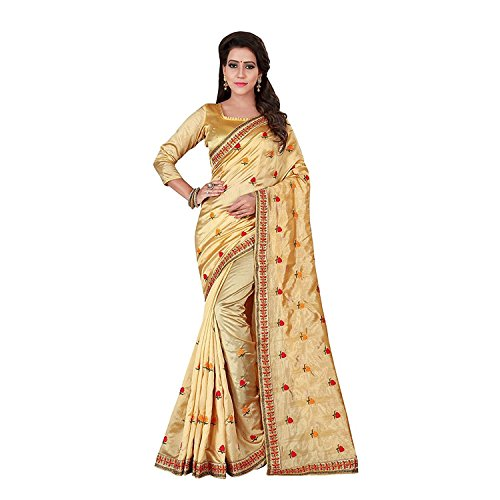 Saree With saree Chiffon Piece mcraf88144450420 Embroidered Handicrfats Export Women's Indian Blouse Orange q0YpZA