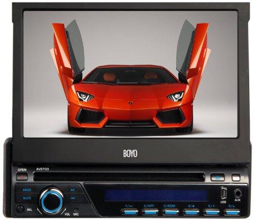 Boyo AVS703 Bluetooth In-Dash DVD Player