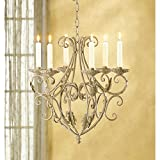 Candleholders Wrought Iron Old World Style Candle Holder Royalty's Chandelier